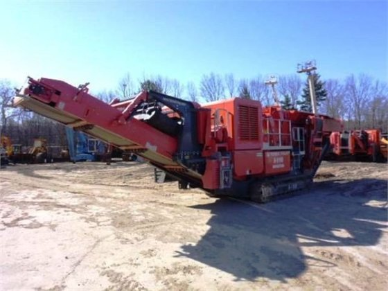 2012 TEREX Finlay I110 Crushers