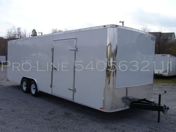 2015 24' Car Hauler Enclosed