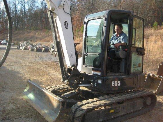 2012 BOBCAT E55 Excavators in