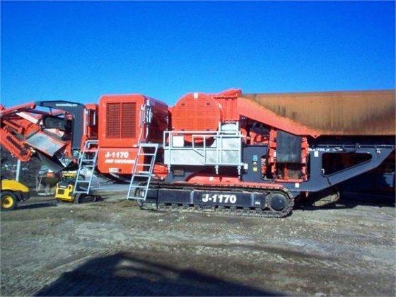 2013 TEREX Finlay J1170 Crushers