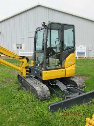 2014 Kobelco SK55SRX-6E Excavators in