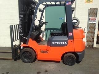 Toyota 7FGCU25 Forklifts in Bensalem,