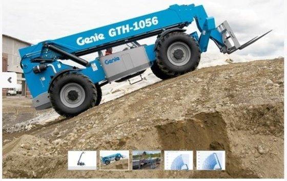 2016 GENIE GTH-1056 Telehandler in