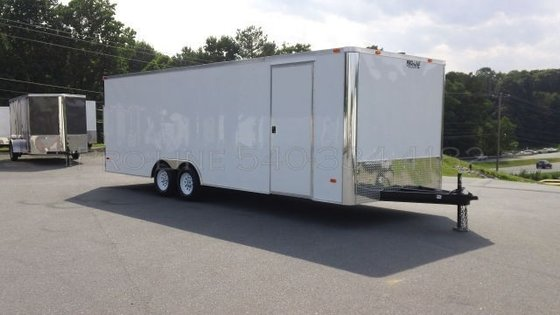 8.5 x 24' Enclosed Trailer