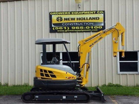 2013 NEW HOLLAND E27B Excavators
