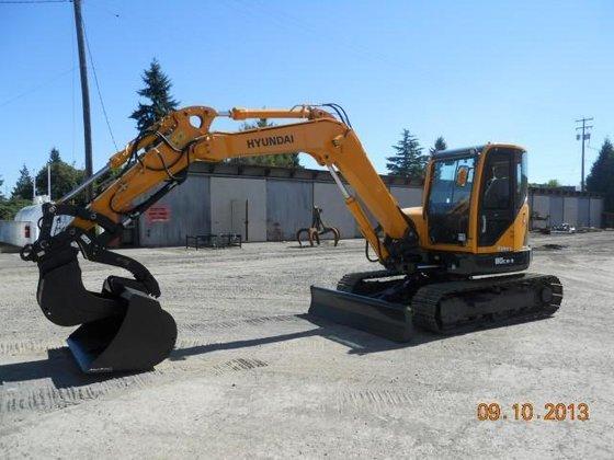 2013 HYUNDAI ROBEX 80CR-9 Excavators