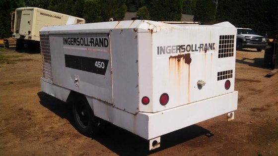 INGERSOLL-RAND HP450 Air compressors in