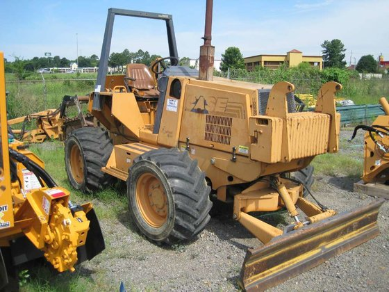 2000 Case 860 Trenchers in