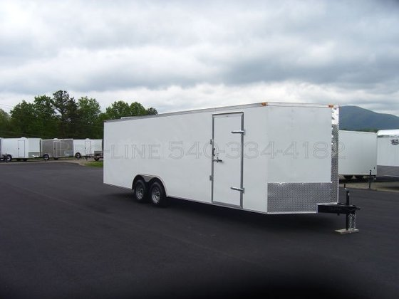 2015 24' Enclosed Car Hauler