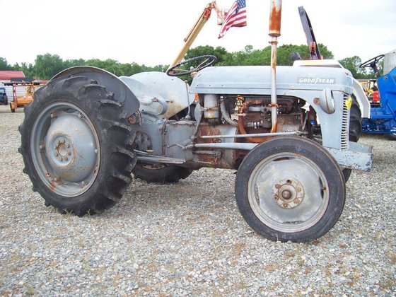 Ford 8N Compact tractors in