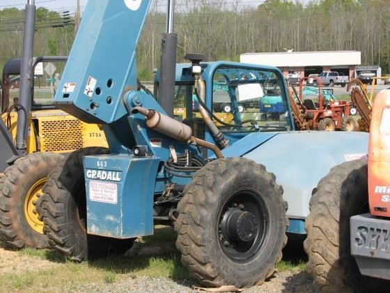 2002 Gradall G6-42P Forklifts in
