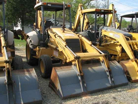 1999 New Holland 555E Backhoes