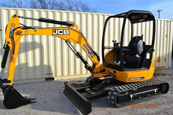 2014 Jcb 8030ZTS Mini excavators