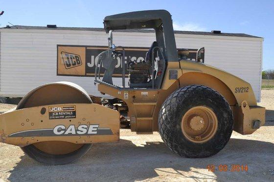 2008 Case SV212 Compactors in