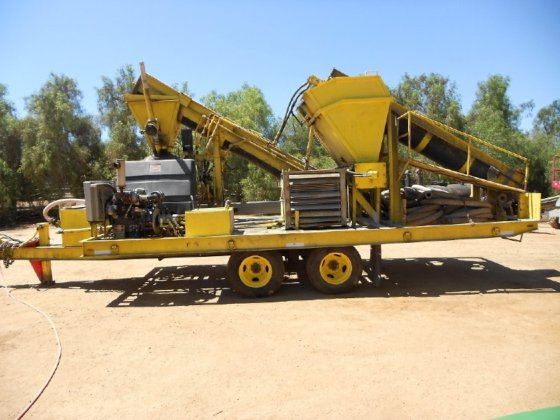 2008 Custom gunite rig EQUIPMENT