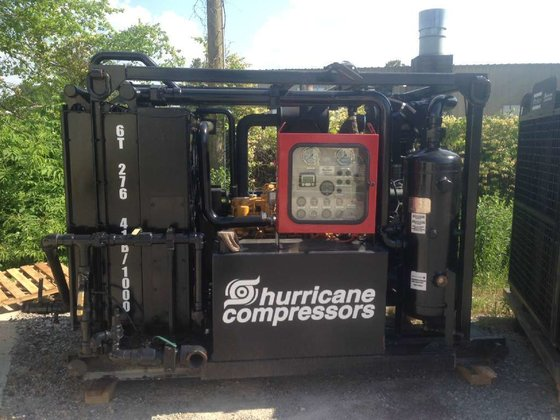 2007 HURRICANE B6-41/1000 Air compressors