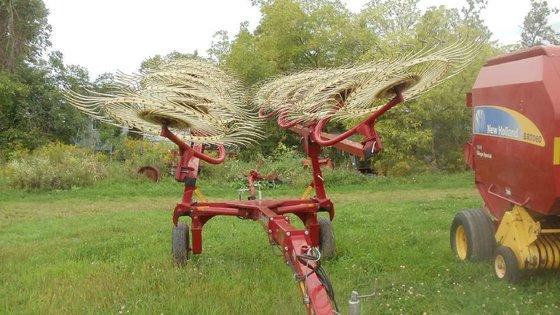 Sitrex QR-12 Hay rakes in