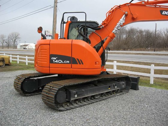 2012 Doosan DX140LCR Excavators in