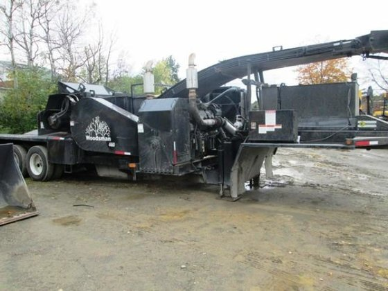 2010 WOODSMAN 460 Chipper in