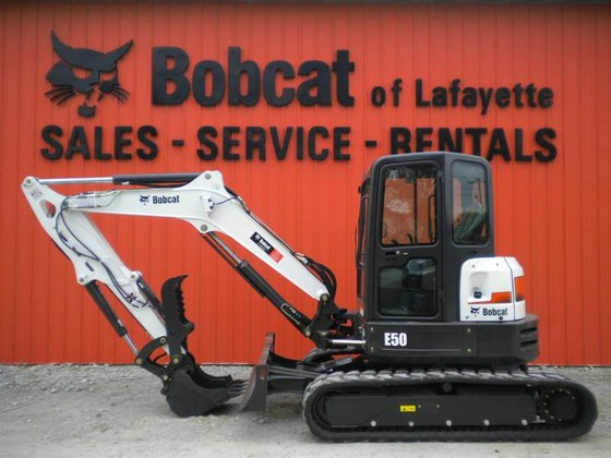 2015 Bobcat E50 Excavators in