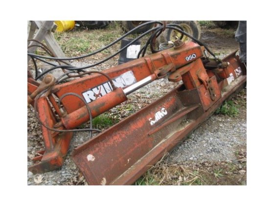 Tractor Plow Attachment PLOWS in