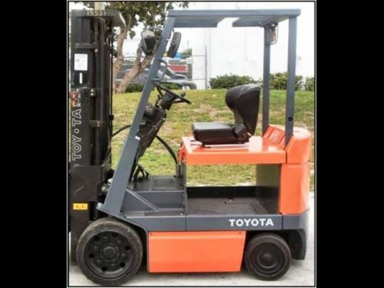 TOYOTA 5FBCU25 Forklifts in Fort