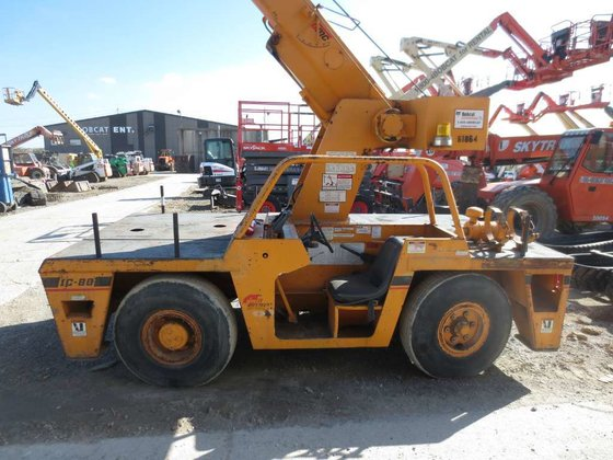 Broderson IC80-3F All-terrain cranes in