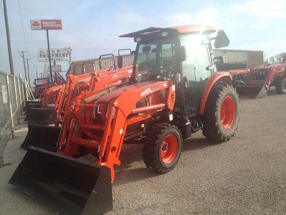 2016 KIOTI NX5010HC Compact tractors