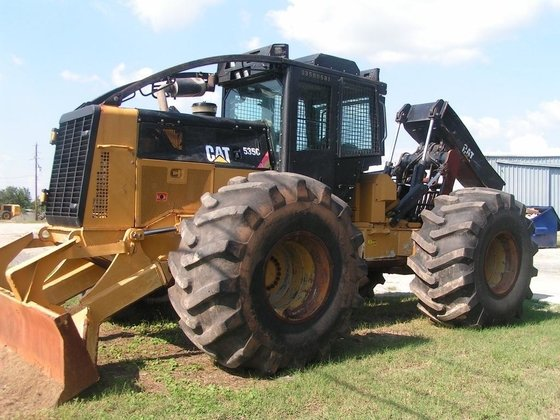 2012 CATERPILLAR 535C Skidder in