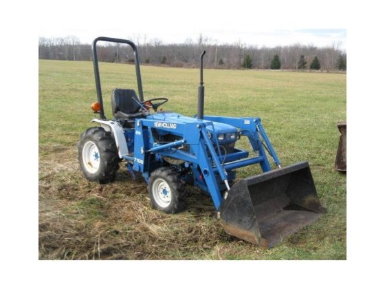 1999 NEW HOLLAND 1220 Compact
