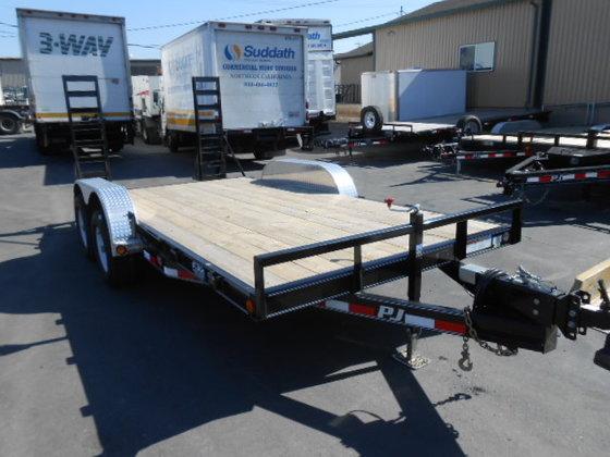 2015 PJ 16' Car hauler
