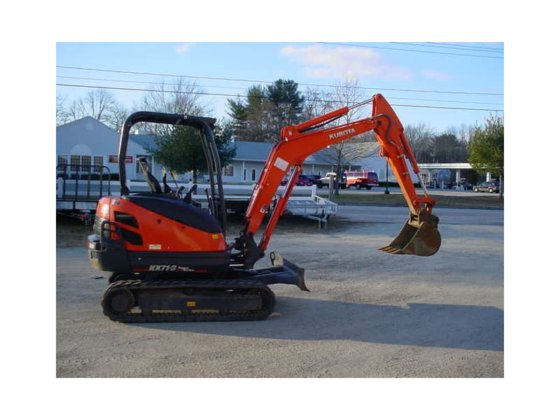 2012 KUBOTA KX71-3 Excavators in