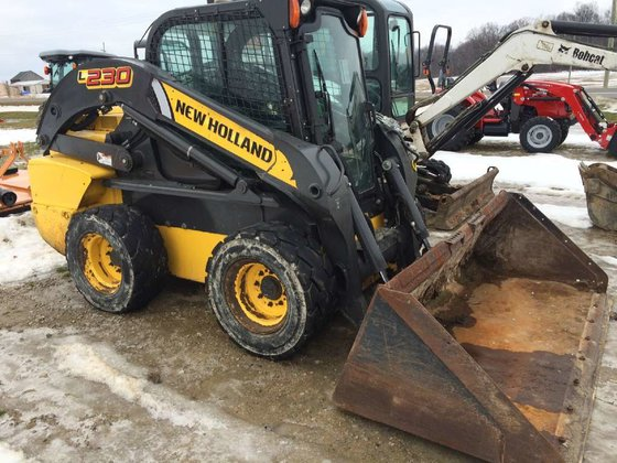 2012 New Holland L230 Skid