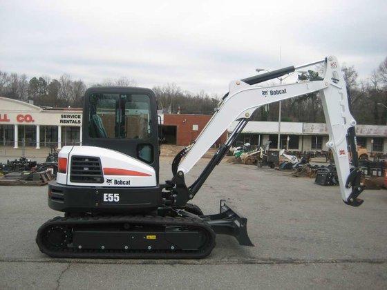 2015 Bobcat E55 T4 Excavators