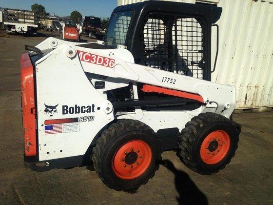 2012 Bobcat S510 Skid steers