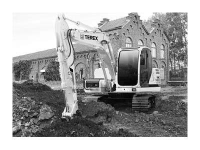 2008 Terex TXC140LC-2 Excavators in
