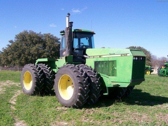 1991 JOHN DEERE 8760 Tractors