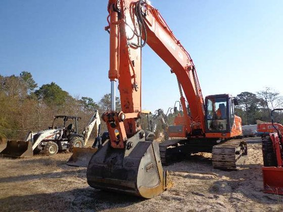 2013 Doosan DX350LC-3 Excavators in