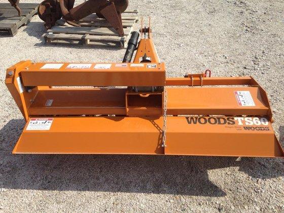 """2014 WOODS TS60 60"""" Tiller"""