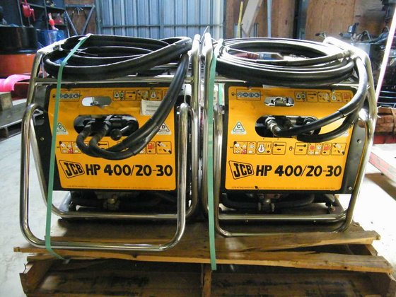 2015 Jcb HP400/20-30 HYD PWR