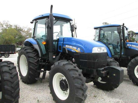 2014 New Holland TS6.140 Tractors