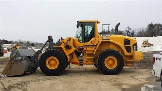 2011 VOLVO L180G Wheel loaders