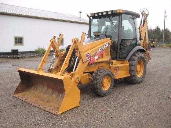 1996 CASE 580SL Backhoe loader