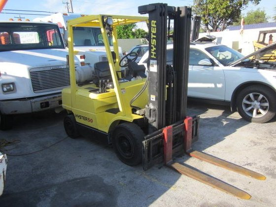 2004 HYSTER 50 Forklifts in