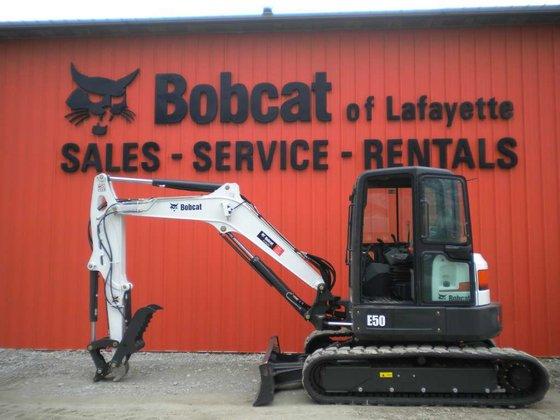 2015 Bobcat E50 T4 Long