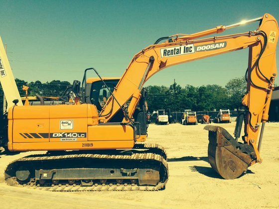 2012 Doosan DX140LC Excavators in