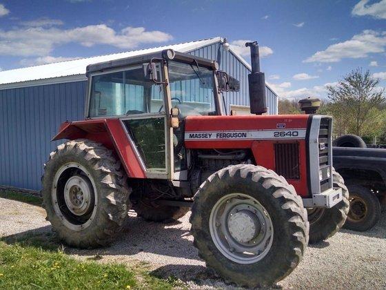 1984 MASSEY FERGUSON 2640 Tractors