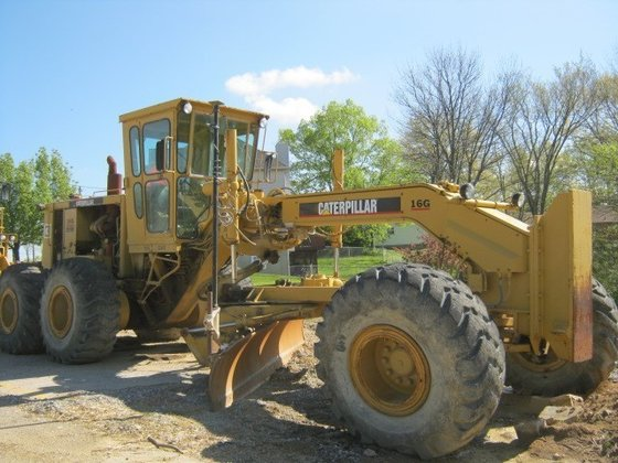 1980 CATERPILLAR 16G Graders in