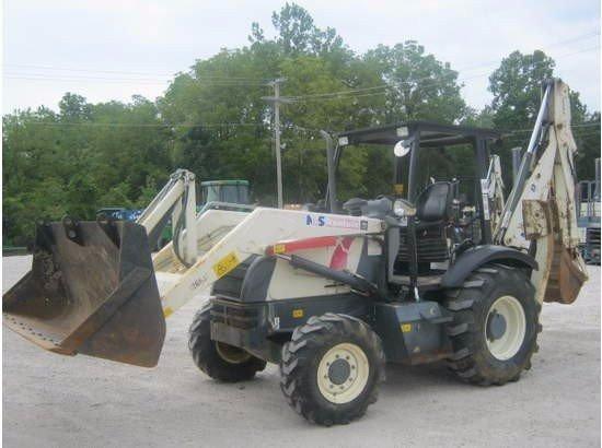 2005 TEREX 760B Backhoe loader