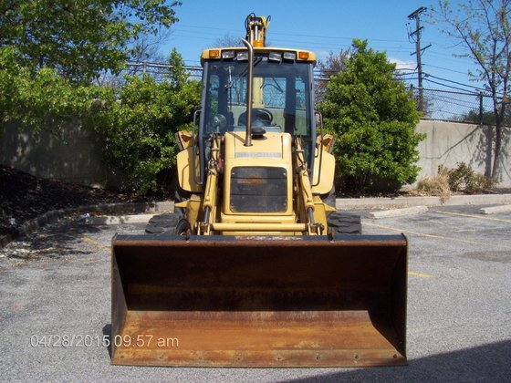 1997 NEW HOLLAND 655E Backhoes